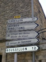 french signpost